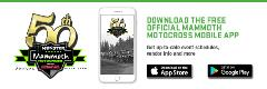 Mammoth Motocross Mobile App